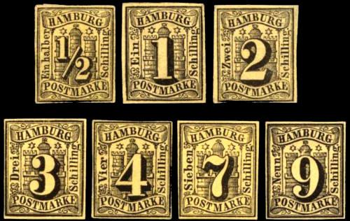 Hamburg Stamps