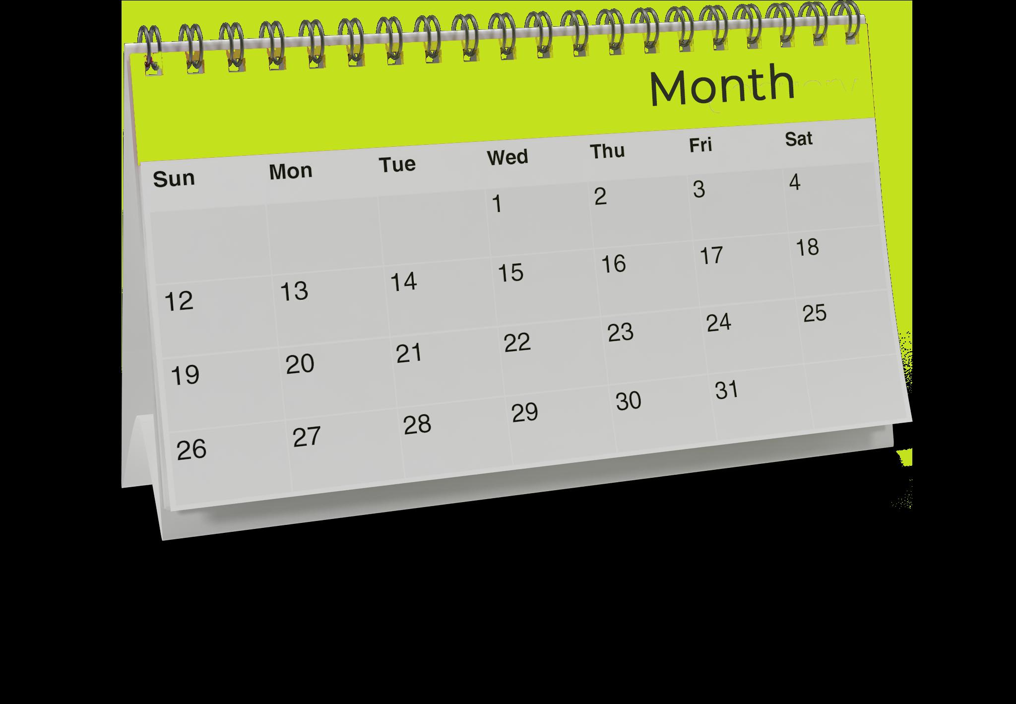 Standing Calendar.H14.2k copy