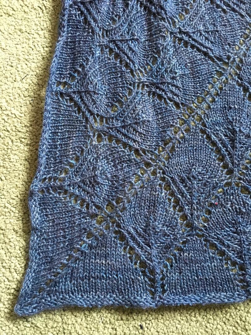 Fantoosh shawl - detail