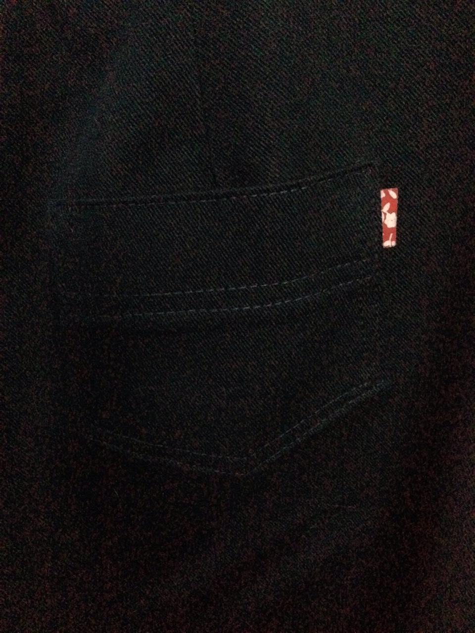 Rear pockets