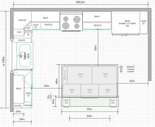 10 x 15 kitchen design