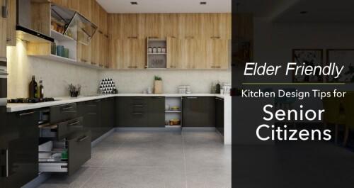 best kitchen design for elderly