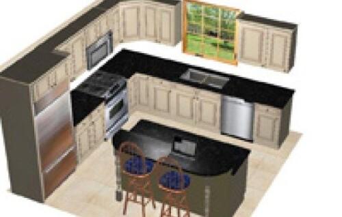 10 by 12 foot kitchen design