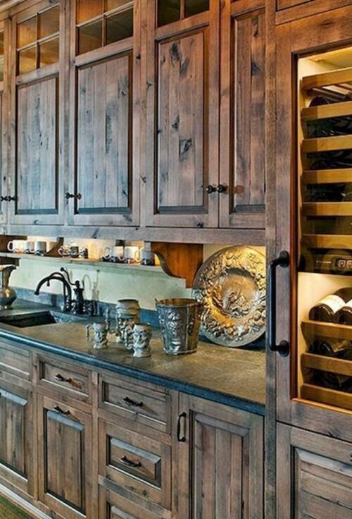 17 rural kitchen cabinet design ideas