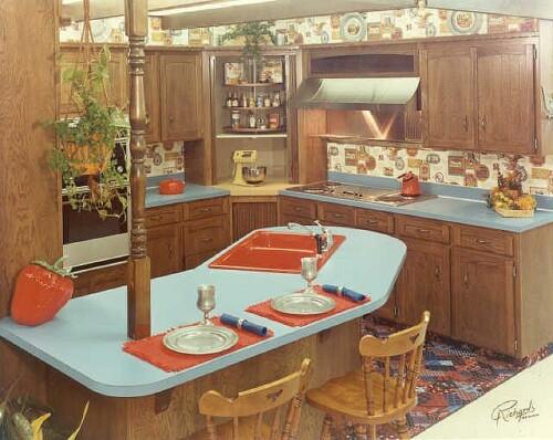 1970 kitchen design