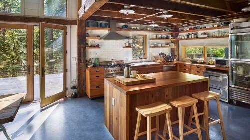 20 modern rustic kitchen design ideas