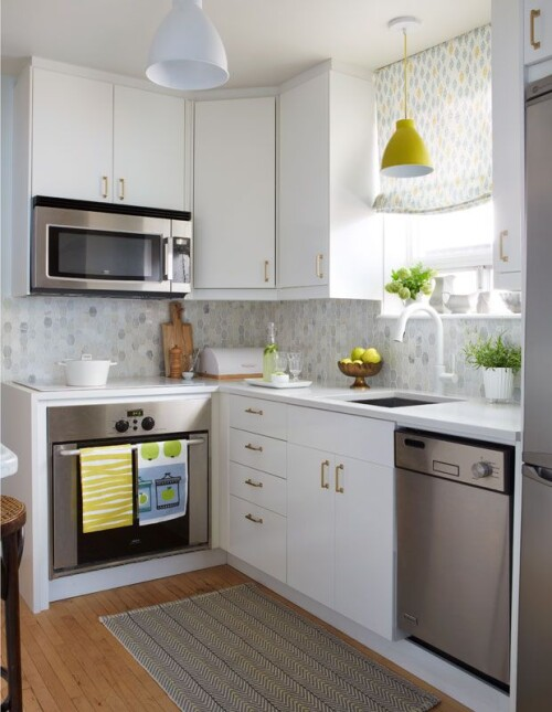 20 small kitchens that prove size doesn