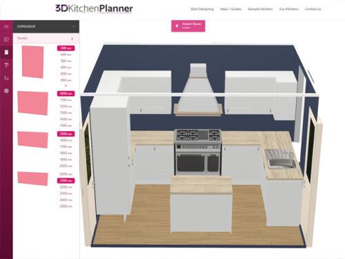 3d kitchen planner design a kitchen