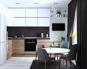 3d max kitchen design free download