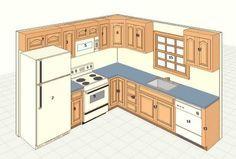 9 x 10 kitchen design google search