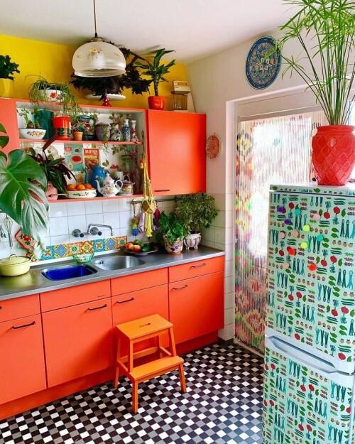 bohemian style kitchens design ideas