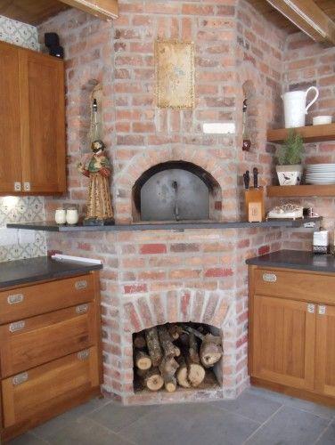 brick oven kitchen design