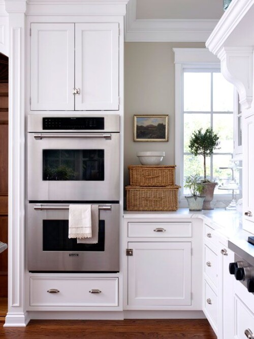 built in oven kitchen design