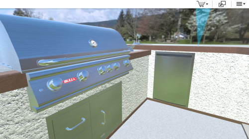 bull outdoor kitchen configurator by