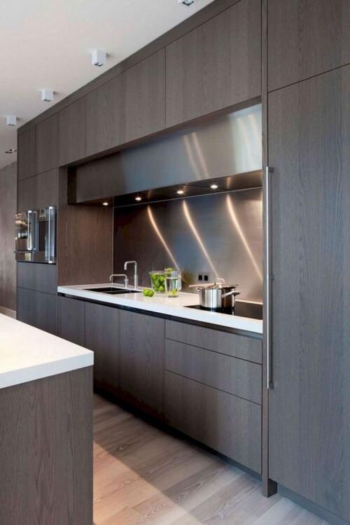 contemporary minimalist kitchen design