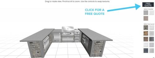free outdoor kitchen design software