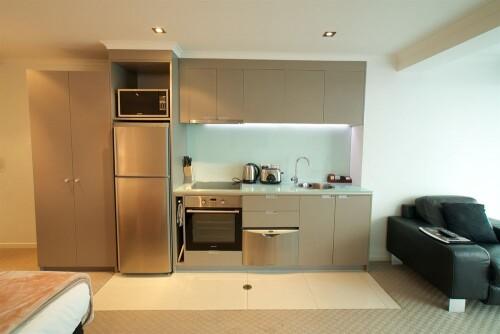 hotel room kitchen design