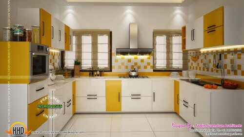 kitchen design images kerala