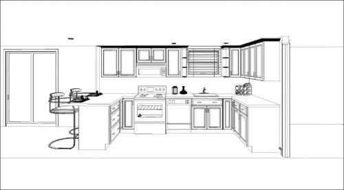 kitchen ideas open floor plans family