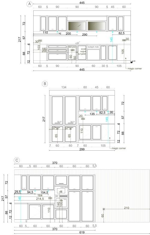 kitchen project elevations kitchen