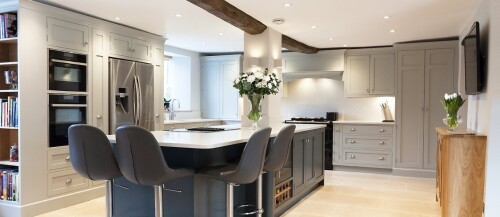 kitchens berkshire bespoke solid oak