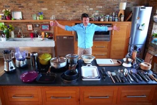 layout jamie oliver kitchen design