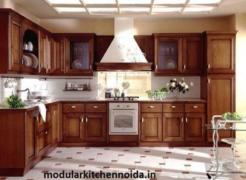 modular kitchen interior in noida simple