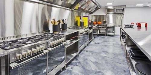resto kitchen design