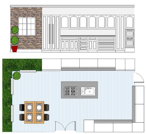 simple kitchen design software free