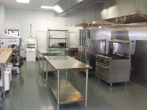 small bakery kitchen design