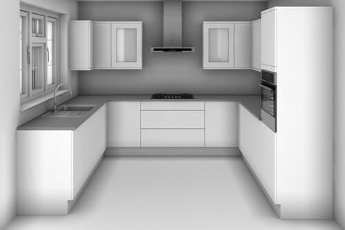 u kitchen design