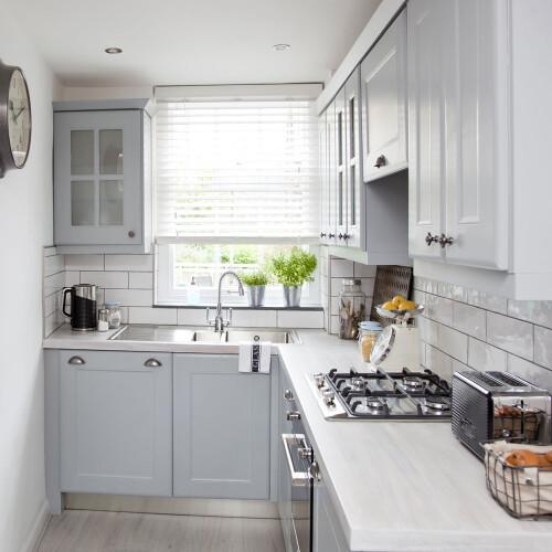 inspirasi desain kitchen set l shape