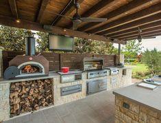 kitchen design with garden