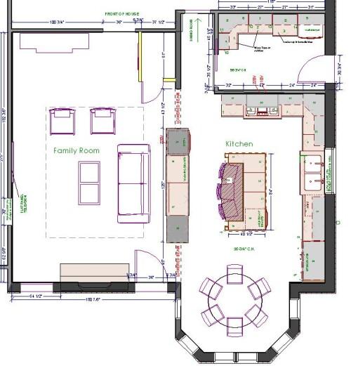 kitchen floor plans kitchen island