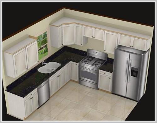 l shape kitchen design images
