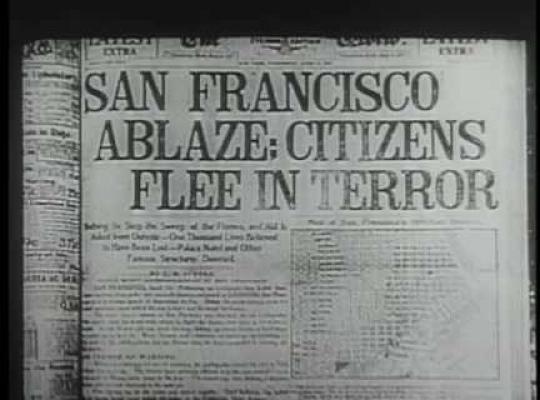 San Francisco Earthquake, USA, 1906