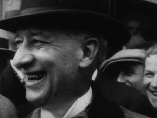 Profile of Al Smith, USA, 1910s -