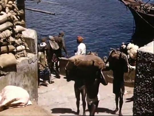 Kenya, Mombasa Harbour, Africa, 1950s