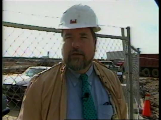 Camden Yards Excavation, B-Roll, Baltimore, USA, 1990