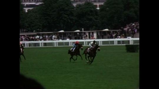Paris, Horse Racing at Longchamps Race Track, France, 1970