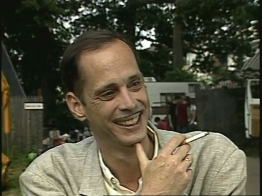 John Waters Interview on the Set of Cry Baby, USA, 1989