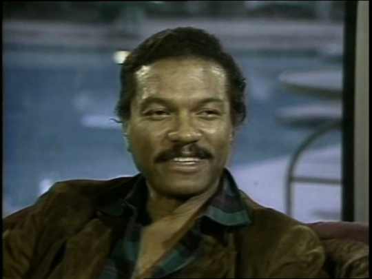Billy Dee Williams Interview, USA, 1980s