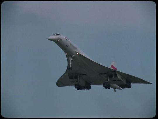 British Airways Concorde, UK, 1990s
