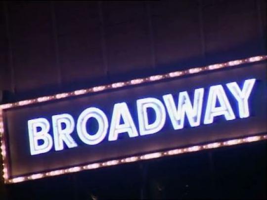 New York City, Broadway, Times Square, USA, 1990s