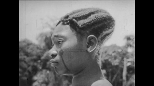 Africans with Elongated Skulls, Africa, 1930s