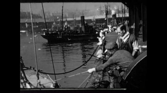 Scotland, Fishing Village, UK, 1940s