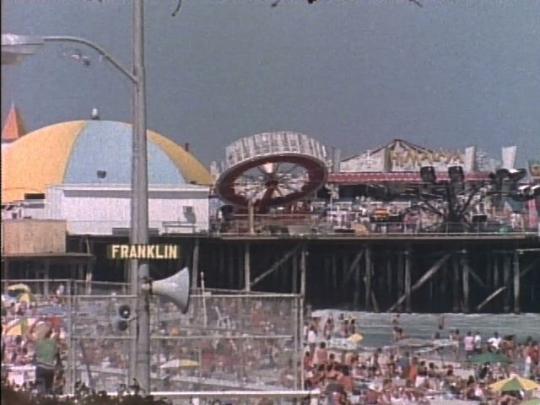 Wildwood, New Jersey, Beach, Boardwalk, Summer, USA, 1980s