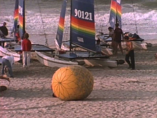 Cape May, New Jersey, Sailing Competition, USA, 1980s
