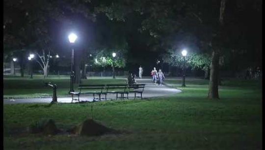 New York City, Central Park, Wide-Shot, Night, USA, 2010s