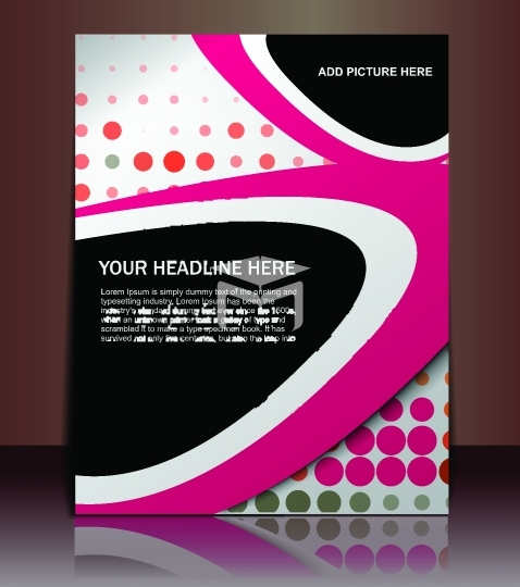 page poster template